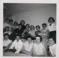 Group in Dorm Room